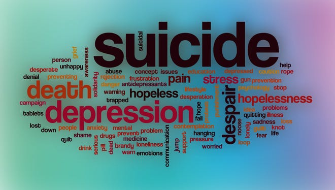 Suicide, depression, etc.