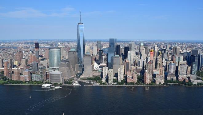 Stock photo of Manhattan.