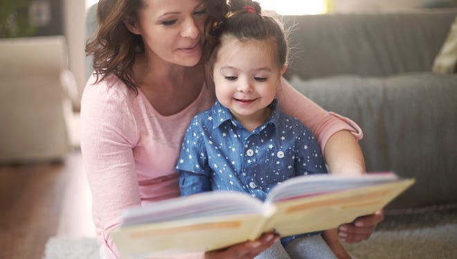 Reading 30 minutes a night is an example of a goal that can be set with toddlers or prescshoolers.