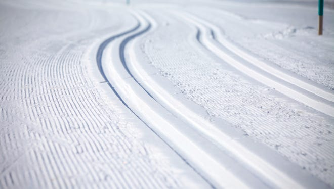 Cross Country Ski Tracks