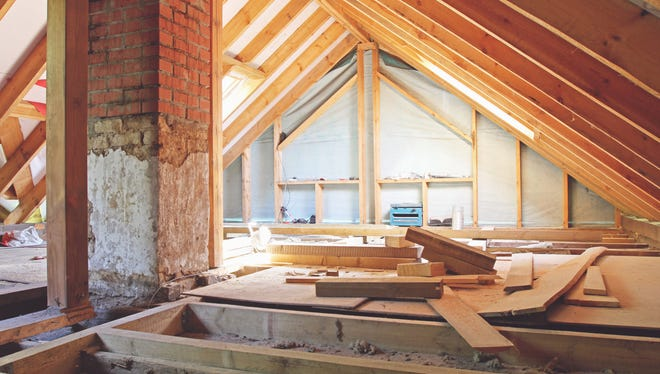 Reading the signs of poor ventilation is the first consideration during the attic inspection.