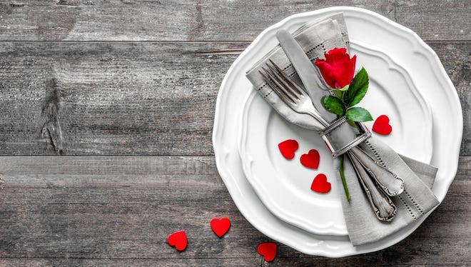 You can show your love through a healthy meal this Valentine's Day.