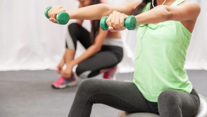 Lifting weights and cardio exercise are important parts to any workout regimen.