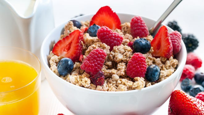 Eating breakfast increases the amount of physical activity in the morning.