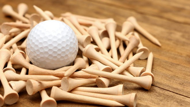 Golf Tees and Ball