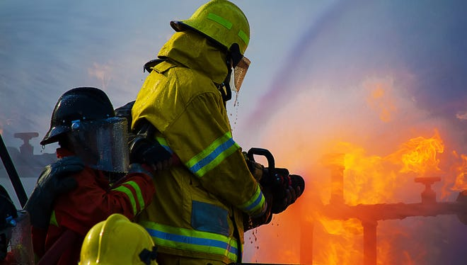 A Fort Myers Beach firefighter has been put on paid administrative leave pending an internal investigation.