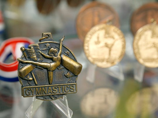 Medals at The Gymnastics Training Center of Rochester,
