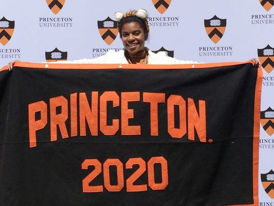 Danielle Stephenson heads to Princeton in the Fall.