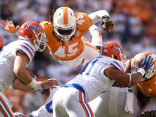 APTOPIX Florida Tennessee Football
