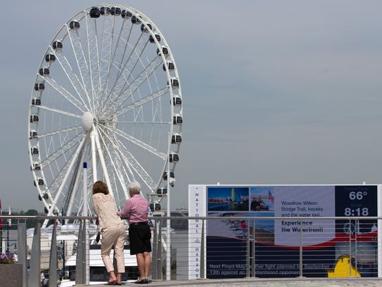 The Capital Wheel in National Harbor, Md.