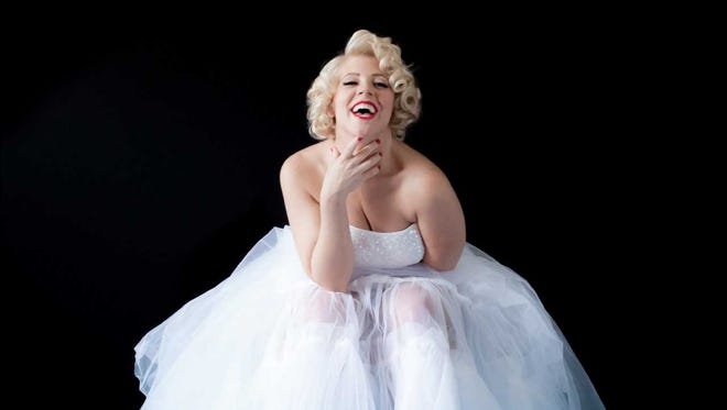 """Erin Sullivan stars in """"With Love, Marilyn,"""" which will debut in the Rio Grande Theatre on June 1 and 2."""