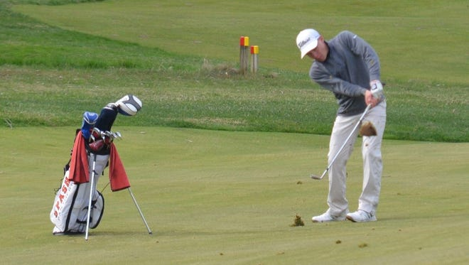 Evan Thomas helped the SPASH boys golf team to a WIAA Division 1 regional title this past week.