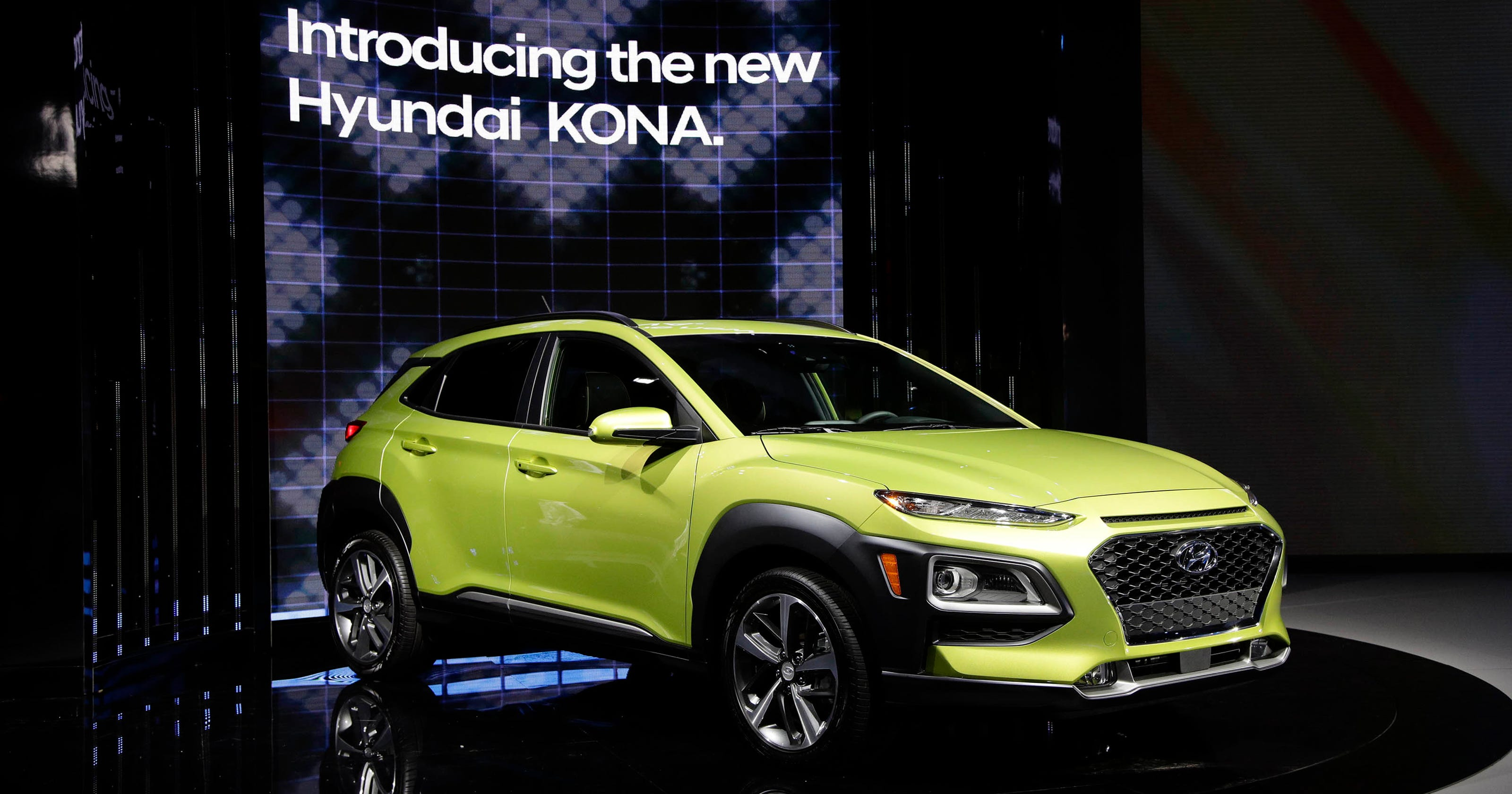 Hyundai Reveals Kona Crossover At Los Angeles Auto Show - Hyundai car show