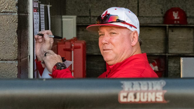 UL coach Tony Robichaux is looking for his Ragin' Cajuns to start finishing their weekend series, and for more consistent hitting as well.