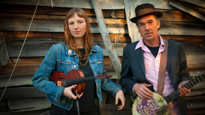 Richie Stearns and Rosie Newton's music sits at a junction of Americana, old-time and folk, bringing a new sound to traditional music.