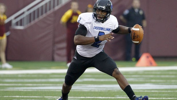 Eastern Illinois quarterback Jalen Whitlow has thrown for five touchdowns and ran for five scores this season.