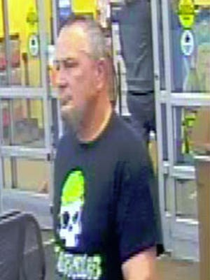 The man pictured in the photo obtained from the video surveillance footage from Walmart at 1355 East Lehman Street is suspected of exposing himself to three juvenile females. Anyone having information about this subject is asked to contact the North Lebanon Police Department at 717-273-8141 or Lebanon County Communications at 717-272-2054.