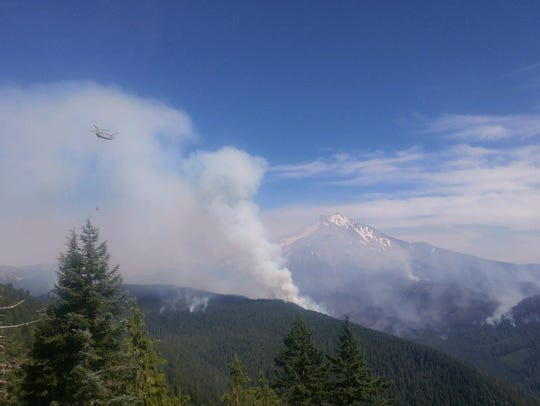 The Whitewater Fire on Aug. 6.