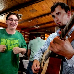 Flatt Lonesome fan gets dream come true at Uncle Dave Macon Days