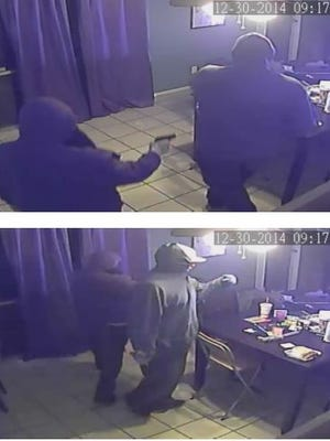 Images from surveillance video from a Tempe homicide Tuesday night in the 1000 block of E. Manhatton Drive.