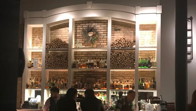 The bar at Spoon and Stable, the restaurant by chef-owner Gavin Kaysen in Minneapolis' North Loop.