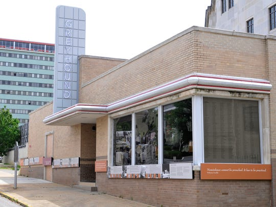 The Freedom Rides Museum, the old Greyhound Bus Station in downtown Montgomery, Ala., on Friday, May 11, 2012.