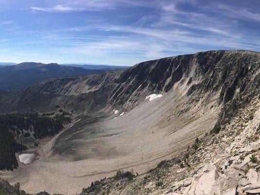 Rock Glacier horizontal