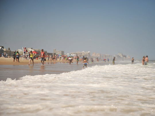 Approximately 300,000 people visit Ocean City on the