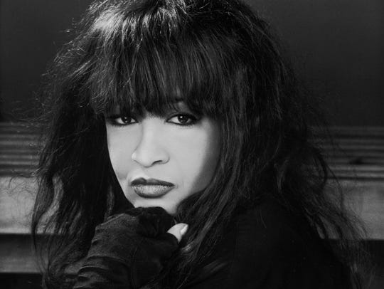 "Ronnie Spector released a new single, ""Love Power,"""