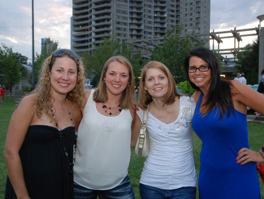 Party in the Park returned to Yeatman's Cove with music from Devils Due.  Jamie Giordano, Lisa Fenboque, Michele Baker and Danielle Horton.