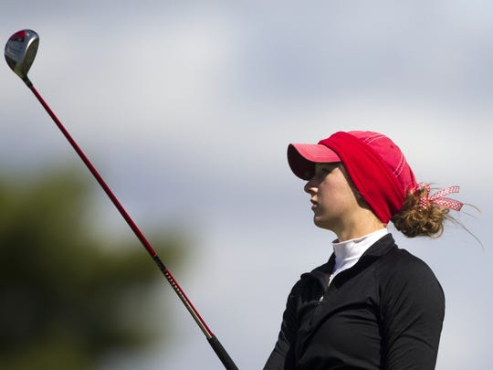 FILE – Sydney Clute played golf, ran track and competed in gymnastics during her Center Grove career.