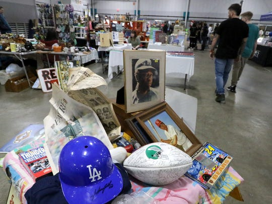Sports memorabilia and all other kinds of memorabilia will be for sale at Wisconsin Rummage-O-Rama at State Fair Park this weekend.