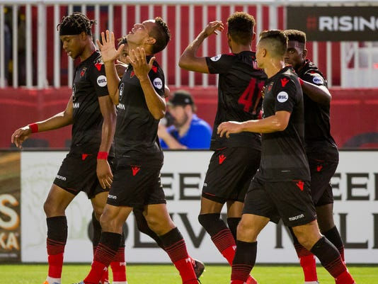 Phoenix Rising FC - Orange County Soccer Club