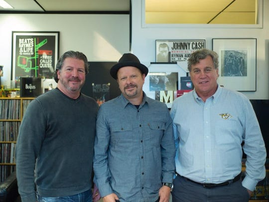 Asbury Park Press publisher Tom Donovan (left to right), photographer and filmmaker Danny Clinch and Sony Pictures Classics co-founder and co-president Tom Bernard are chairs of the Asbury Park Music in Film Festival Advisory Board.
