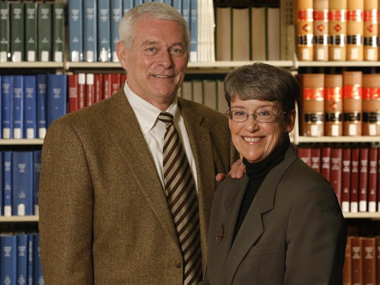 Mike Cotter, U.S. attorney for Montana and his wife, Montana Supreme Court Justice Patricia Cotter.