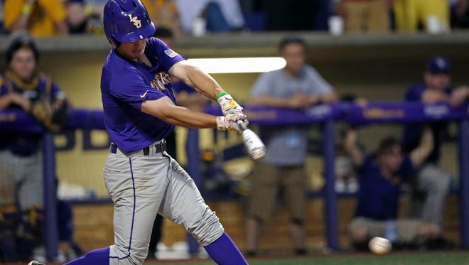LSU junior shortstop Alex Bregman was one of two Tigers named first-team All-American Thursday by Baseball America.