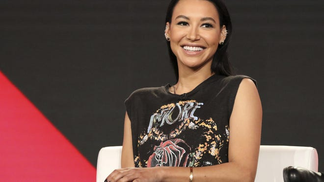 FILE - In this Jan. 13, 2018 file photo, Naya Rivera participates in the 'Step Up: High Water' panel during the YouTube Television Critics Association Winter Press Tour in Pasadena, Calif.