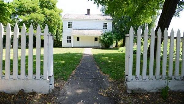 The Fiechter House at William L. Finley National Wildlife Refuge near Corvallis was built around 1855 and is considered one of the oldest remaining buildings in Benton County.