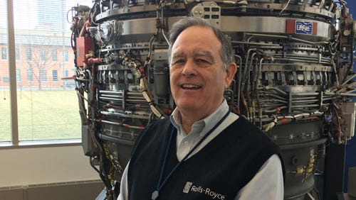 Dave Newill, the president of the Allison Branch of the Rolls-Royce Heritage Trust, grew up around the local aviation industry.