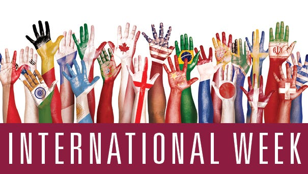 The University of Louisiana Monroe will host its annual International Week—a week dedicated to celebrating the diversity of cultures represented on ULM's campus.