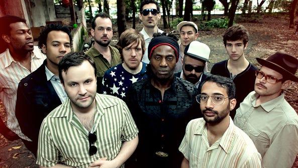 The world-music group Antibalas headlines June 11 at