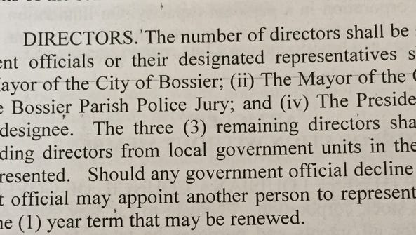 Section 3 of the NLCOG ByLaws