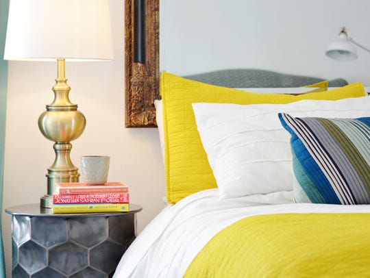 Change up your linens.