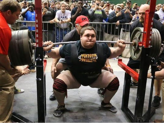 wray s big day lifts pontotoc at mississippi powerlifting meet