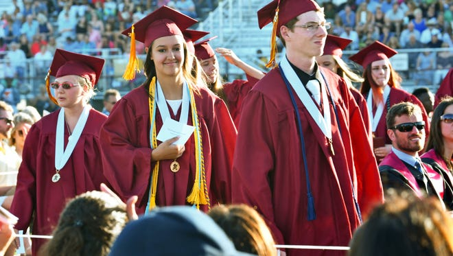Astronaut High School Commencement Ceremony at the Storey-Taylor stadium on Saturday, May 20.