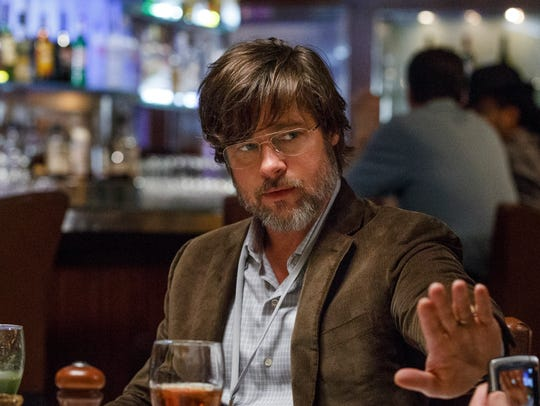 Brad Pitt plays Ben Rickert  in 'The Big Short.'