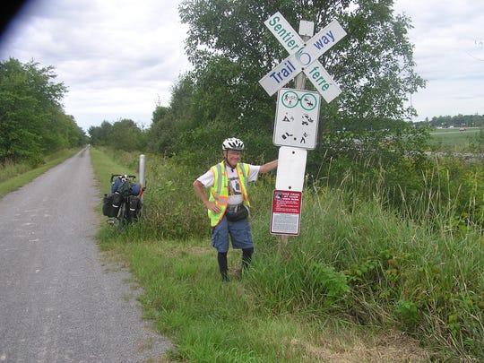 2014 Bike Canada pt 2 204 begin transcontinental bike way segment  west of O.jpg