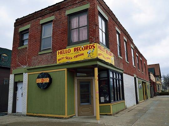 Hello Records in Corktown.