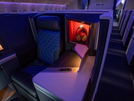 Delta's refreshed 777 aircraft include 28 award-winning