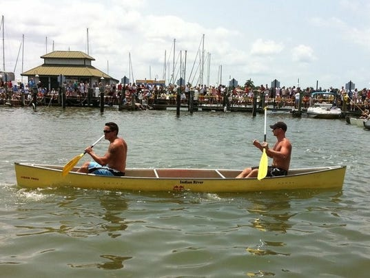Marzucco DePalo Canoe Race